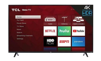 "TCL 43"" 4K Ultra HD Smart LED TV (2018 Model) (Refurbished)"