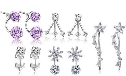 Pendientes con cristales de diferentes estilos con envío gratuito