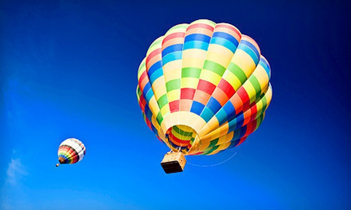 D&D Ballooning - Woodstock: Private Hot Air Balloon Flight for Two or Three at D&D Ballooning in Woodstock (Up to 45% Off)