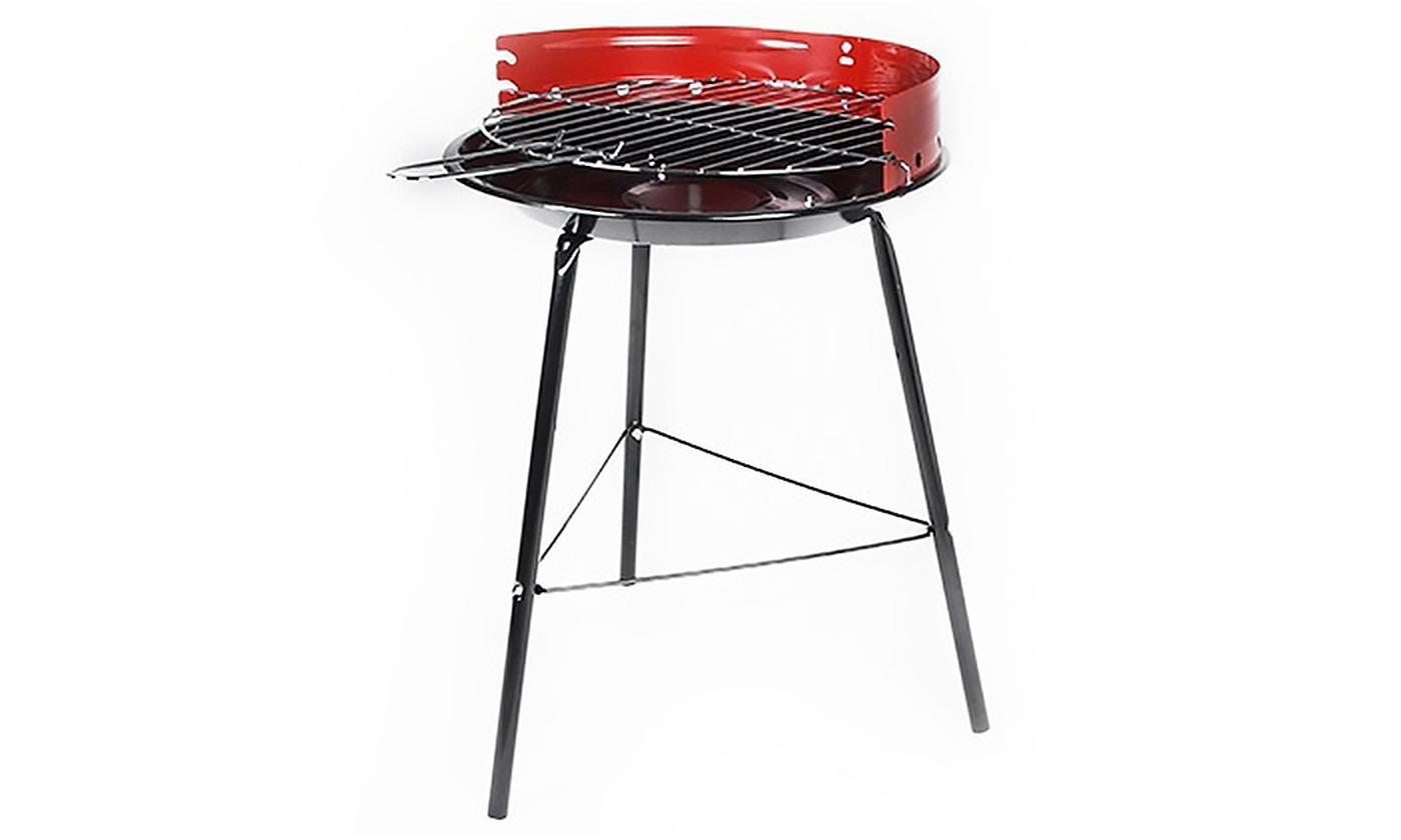 One or Two Steel BBQ Grills