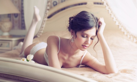 $99 for a Boudoir PhotoShoot Package with Prints at Suzie D Photo ($309 Value)