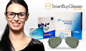 SmartBuyGlasses: Wertgutschein über 30 € oder 40 € anrechenbar auf Kontaktlinsen oder Brillen und Sonnenbrillen von SmartBuyGlasses