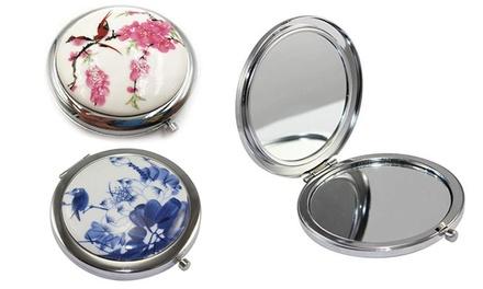 1 o 2 specchietti da viaggio disponibili in 2 colori