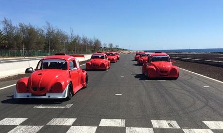 4, 8, 10 o 14 vueltas de conducción de un Fun Cup en el circuito de Maspalomas para 1 o 2 personas desde 49 €