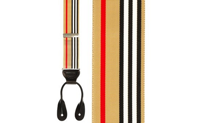 J.P. Tuxedo Warehouse - In-Store Pickup: $24 for One Pair of Suspenders with In-Store Pickup at J.P. Tuxedo Warehouse ($29.95 Value)