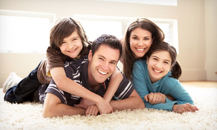 First Class Carpet Cleaning - Villa Park: Carpet Cleaning for Three Rooms from First Class Carpet Cleaning (Up to 42% Off)