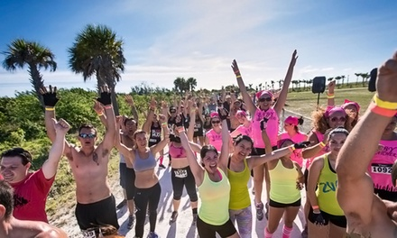 The X Run: Adult-Themed Obstacle Course and Fun Run for One, Two, or Four (Up to 68% Off)