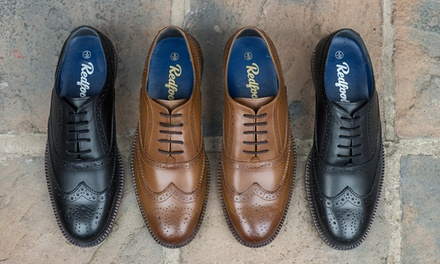 Derbies en cuir modèle Oxford Redfoot