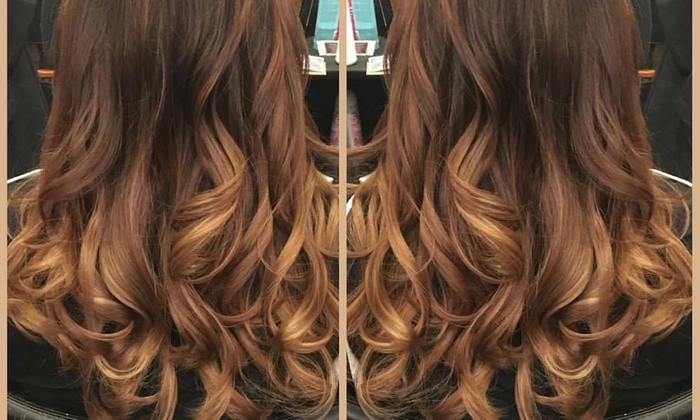 XO by Katie Ann - Spring Valley: Color, Highlights, and Blow-Dry from XO by Katie Ann (60% Off)