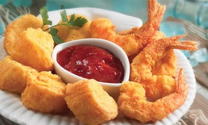 Shrimp Shack Seafood Kitchen: Seafood for One or Two at Shrimp Shack Seafood Kitchen (47% Off)
