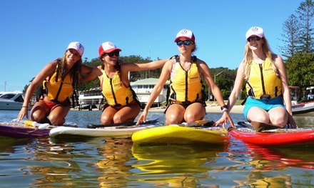 One-Hour Stand-Up Paddleboard Hire for One ($19) or Two People ($35) at Sydney Harbour Kayaks (Up to $50 Value)