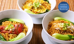 Wong's Noodle Bar: $25 for $50 to Spend on Asian Food at Wong's Noodle Bar