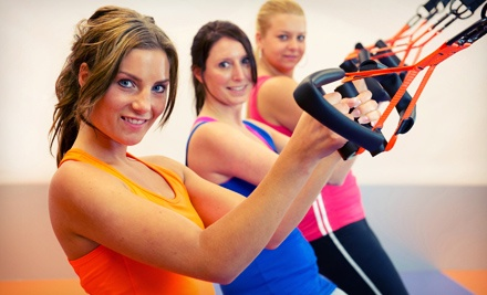 5 or 10 TRX Suspension Training Classes with a 30-Minute Personal-Training Session at QFit Training (Up to 65% Off)