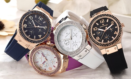 Timothy Stone Watches with Crystals from Swarovski®