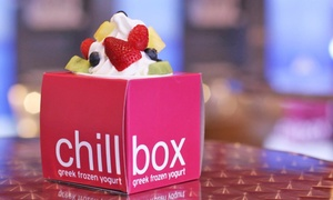 Chillbox Frozen Yogurt: $12 for Four Groupons, Each Good for $5 of Fro-Yo and Smoothies at Chillbox Frozen Yogurt($20 Value)