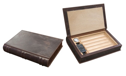 Prestige Import Group Novelist Book-Style Humidor