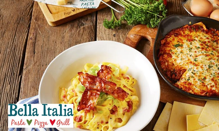 Bella Italia Offers and Voucher Codes for this October