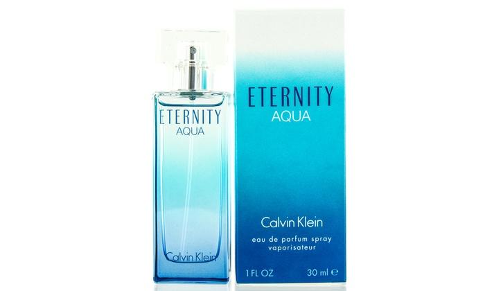 Calvin Klein Eternity Aqua Eau De Parfum For Women 1 Fl Oz Groupon