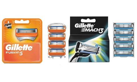 Emballage multiple de lames de rasoir Gillette Mach3, Mach3 Turbo ou Fusion5