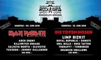 Rockavaria Festival am 9. + 10. Juni u. a. mit Iron Maiden und den Toten Hosen auf dem Königsplatz München (31% sparen)