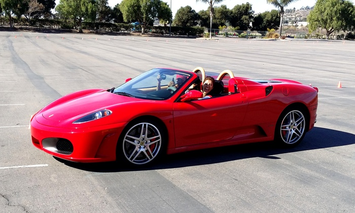 XTREME ADVENTURES - Multiple Locations: $95 for an Exotic Autocross Challenge in a Ferrari from Xtreme Adventures ($199 Value)