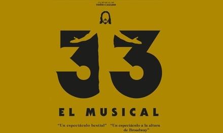 Entrada a 33 El musical Últimas funciones del 1 al 12 mayo desde 20 € en Ifema, Feria de Madrid