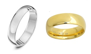 Men's Solid Stainless Steel Rings at Men's Solid Stainless Steel Rings, plus 6.0% Cash Back from Ebates.