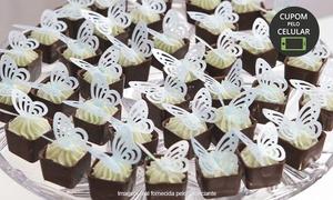 Giane Barros Doces Finos: Giane Barros Doces Finos – Aparecida de Goiânia: 1 caixa com 50 ou 100 doces finos