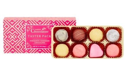 Pakket met chocolade van het merk Martins Chocalatier