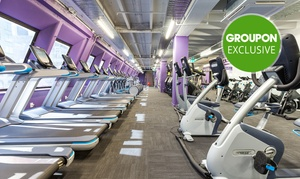 Anytime Fitness - Lorne Street: 1-Month Gym + Classes for One ($19), Two ($35) or Four People ($65) at Anytime Fitness - Lorne Street (Up to $280 Value)