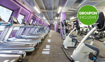 1 Month Gym + Classes for One ($19), Two ($35) or Four People ($65) at Anytime Fitness   Lorne Street (Up to $280 Value)