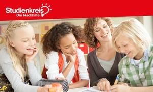Studienkreis - Die Nachhilfe: 5x 90 Minuten Profi-Nachhilfe-Unterricht in der Gruppe in einer Filiale nach Wahl von Studienkreis (55% sparen*)