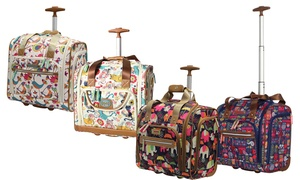 Lily Bloom Under Seat Rolling Carry-On Luggage