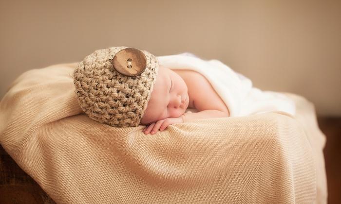 Newborn or baby photoshoot print