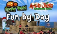 Family Day Ticket to Fun by Day, Spooky World at Apple Jack Farm (41% Off)