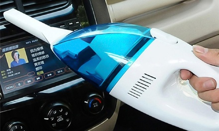Aspirador portátil para coche