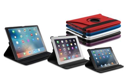 Fundas de cuero sintético PU giratorias 360 grados para iPad