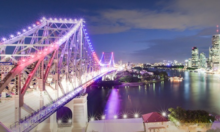 Brisbane: 1 Night for 2 People with Parking and Late Check-Out at Oakwood Hotel & Apartments Brisbane