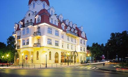 Sopot: 2-6 dni ze śniadaniami, 2-daniową kolacją, dostępem do sauny i więcej w Hotelu Rezydent 5*