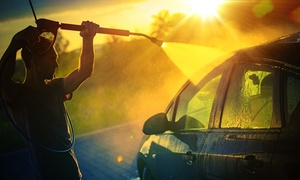 Riinse: Exterior Wash and Wax or Deep Interior Clean with Optional Exterior Wax from Riinse (Up to 43% Off)