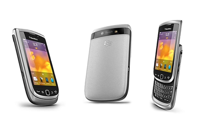 Groupon Goods Global GmbH: BlackBerry Torch 9810 for €89.99 With Free Delivery