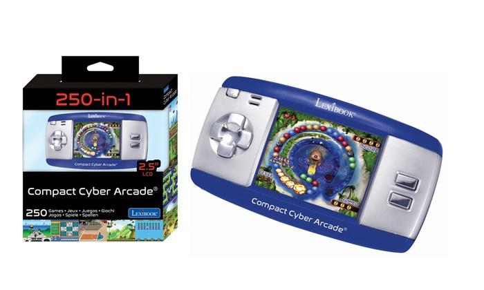 Lexibook Jl2365fz-2/Disney Compact Cyber Arcade la Reine des neiges 150/Jeux