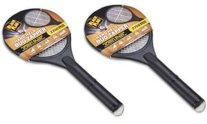 Black Flag Handheld Bug Zapper Racket (2-Pack)