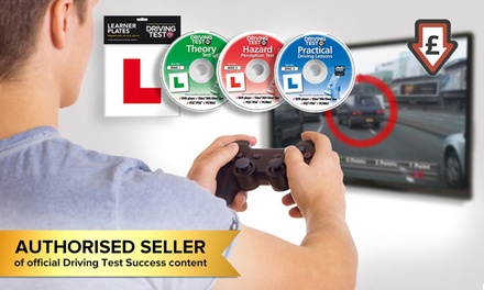 Premium Learner Driver Pack for Games Consoles, Mac, DVD and PC for £6.98 (79% Off)
