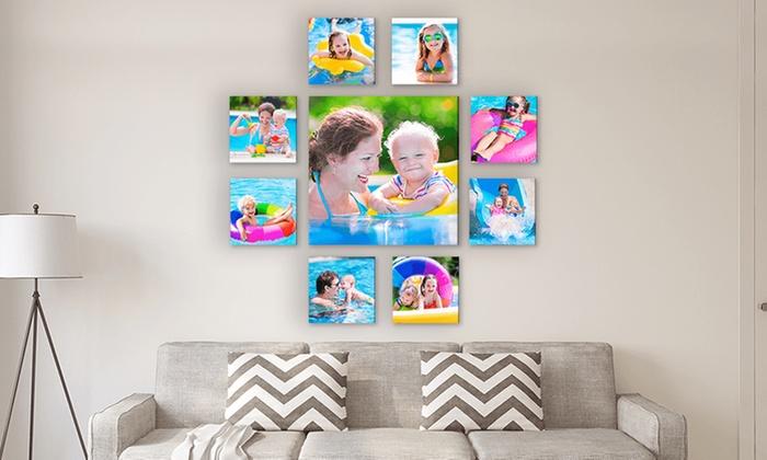 custom canvas prints simple canvas prints groupon
