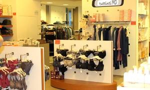 Tuttintimo: Buono da 20 € spendibile su tutti i prodotti presenti in 14 negozi Tuttintimo