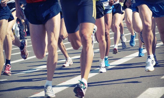 USRA Half Marathon Series - Greenville: Entry to 5K or Half Marathon for One or Two from USRA Half Marathon Series (Up to 63% Off)