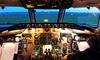 60 minuti di simulatore di volo