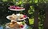 Sparkling High Tea + Garden Access for 2