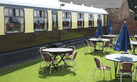 York: 1 or 2 Nights in a Railway Carriage for Two with Breakfast and TwoCourse Dinner at The Sidings Hotel